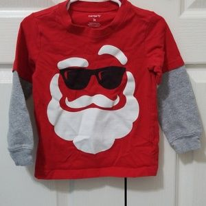 Boys 3T Santa Clause t-shirt